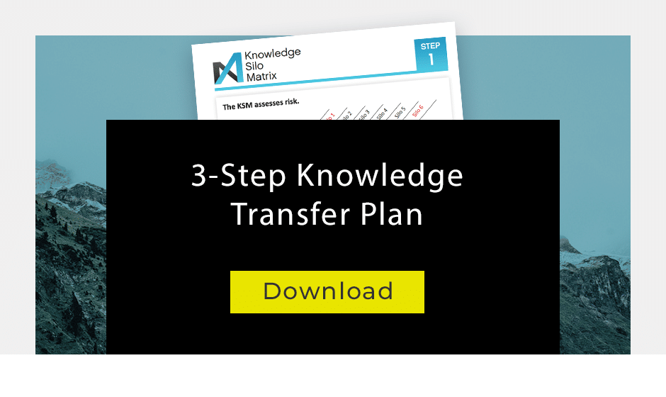 knowledge transition plan template